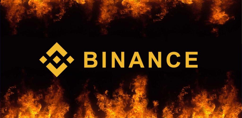 binance token burn